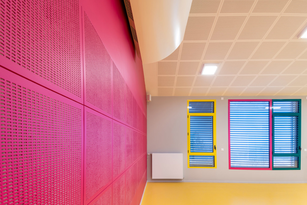 Rénovation et extension de l'école maternelle de Blacé
