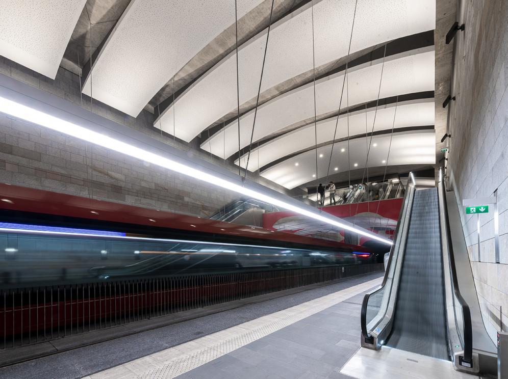 Gare de Tramway souterraine